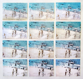 JONATHAN MONK, Another copy of Richard Hamilton Whitley Bay-1965, 2015 [12 postcards]