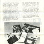 ULISES CARRIÓN, Other Books, exhibition leaflet [The Living Art Museum], 1980