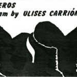 ULISES CARRIÓN, Trios & Boleros, announcement card, 1983
