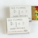 DAVID ROBILLIARD, Old Flames are Dead Matches, 1987