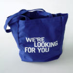 LIZ MAGIC LASER, We're Looking For You, 2013 [tote bag]